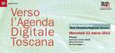 Verso l'Agenda Digitale Toscana